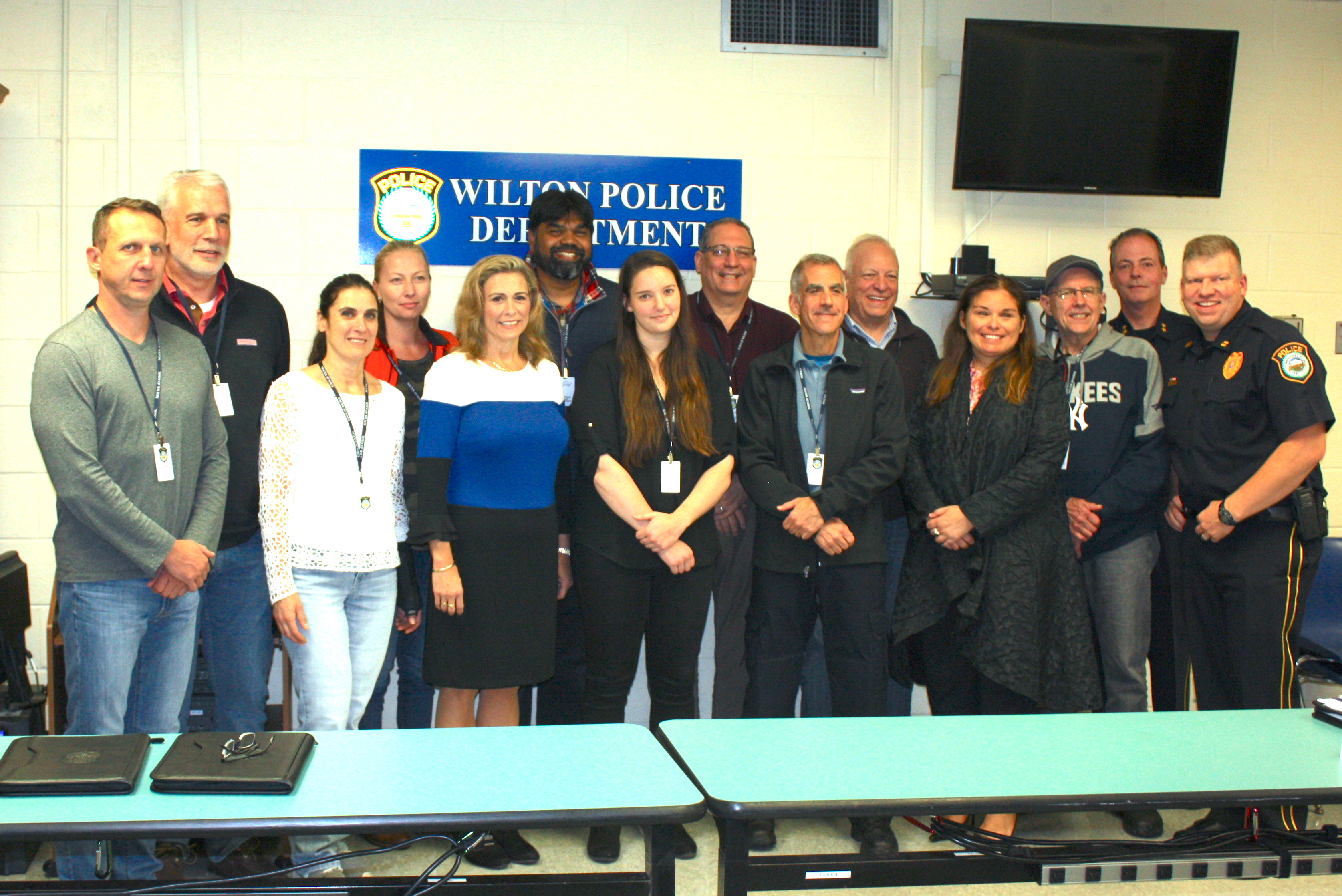 Wilton Police Graduate Residents from Citizens Police Academy