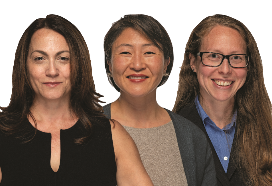 FIRST-TIME Women Candidates:  Democrats Savet Constantine, Jung Soo Kim & Ruth DeLuca