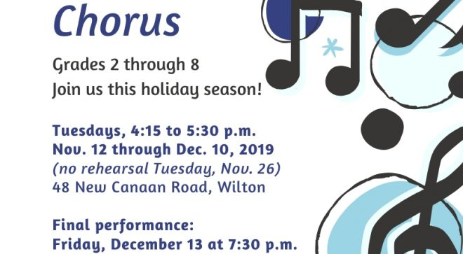 Call for Children Grades 2-8 to Sing in Holiday Concert with Music on the Hill