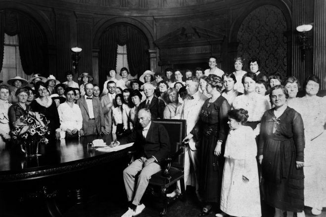 Wilton Makes Plans to Celebrate 100th Anniversary of Women's Right to Vote