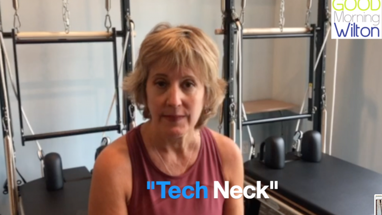 "Health Tip:  How to Help ""Tech Neck"" from The Pilates Advantage [VIDEO]"