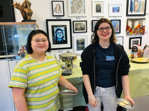 WHS Art Students Rockwell Art Gallery Exhibit_8923