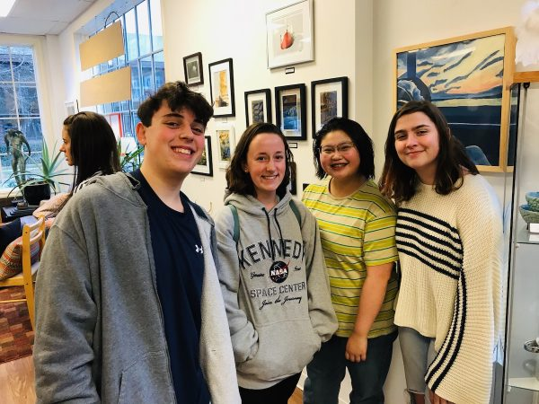 WHS Art Students Rockwell Art Gallery Exhibit_8931