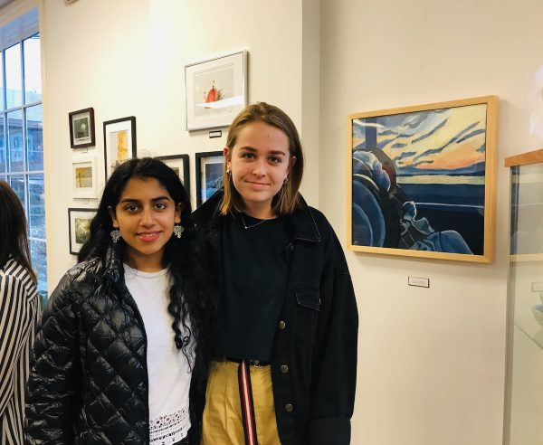 WHS Art Students Rockwell Art Gallery Exhibit_8933
