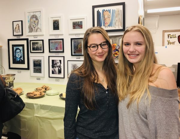 WHS Art Students Rockwell Art Gallery Exhibit_8937