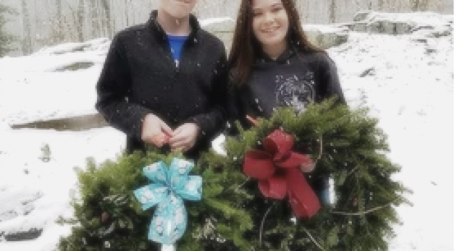 Woodcock Nature Center's Wreath Festival Family Day