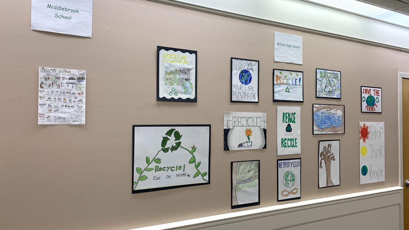 """Town Hall's """"Reduce, Reuse, Recycle Poster Contest"""" Winners Announced"""