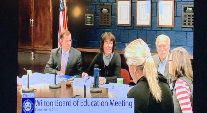 Debbie Low Named Bd. of Education Chair as New Board Meets for First Time