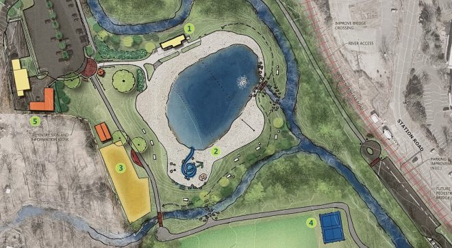 Consultants Present Final Suggested Master Plans for Schenck's Island & Merwin Meadows
