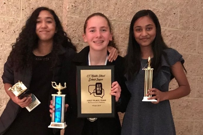 Middlebrook School Debate Team Wins State Tournament
