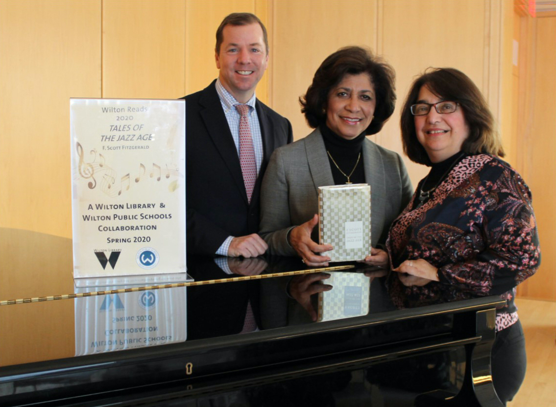 """Wilton Library & Wilton Public Schools """"Get Jazzed"""" for Wilton Reads 2020, Announce Book Choice"""